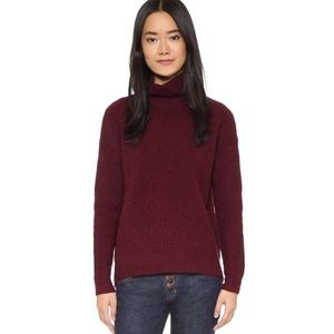 Madewell Solid Aria Turtleneck (Size:Small)